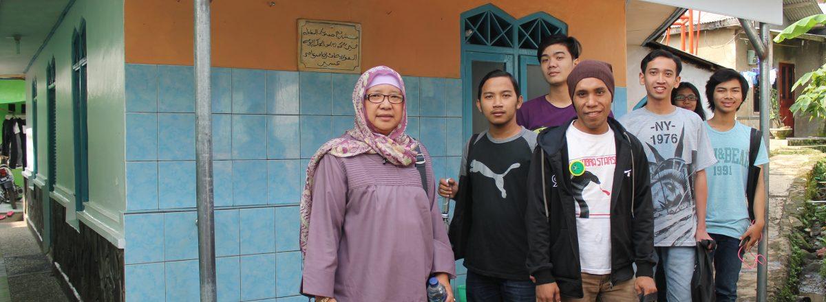 kegiatan praktek metodologi penelitian pada program sosiologi Universitas Nasional (Jawa Barat)