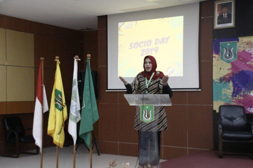 Sambutan Ibu Adilita Pramanti  Ketua Program Studi Sosiologi FISIP Universitas Nasional